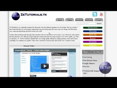 dreamweaver css tutorial pdf