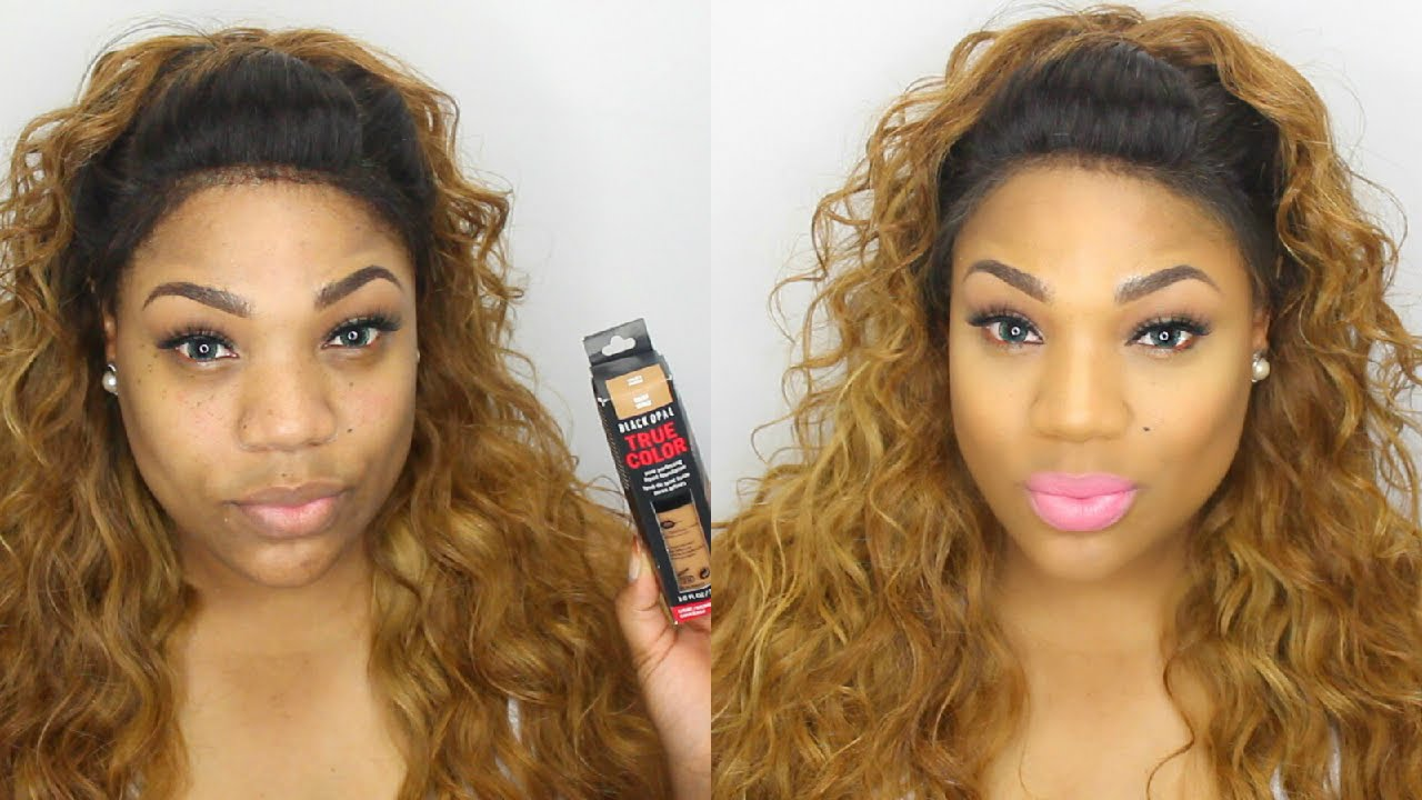 black opal makeup tutorial
