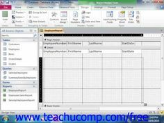 microsoft access quick tutorial