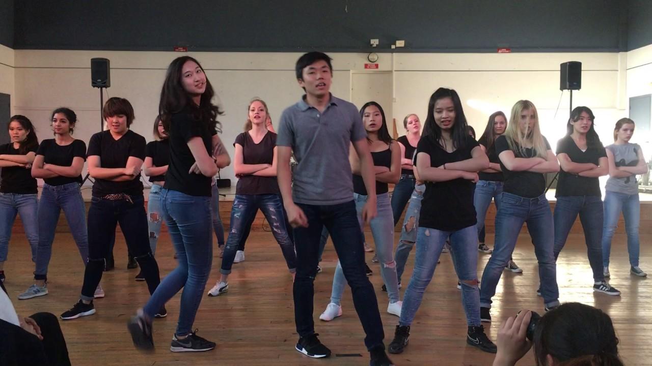 bts boy in luv dance tutorial