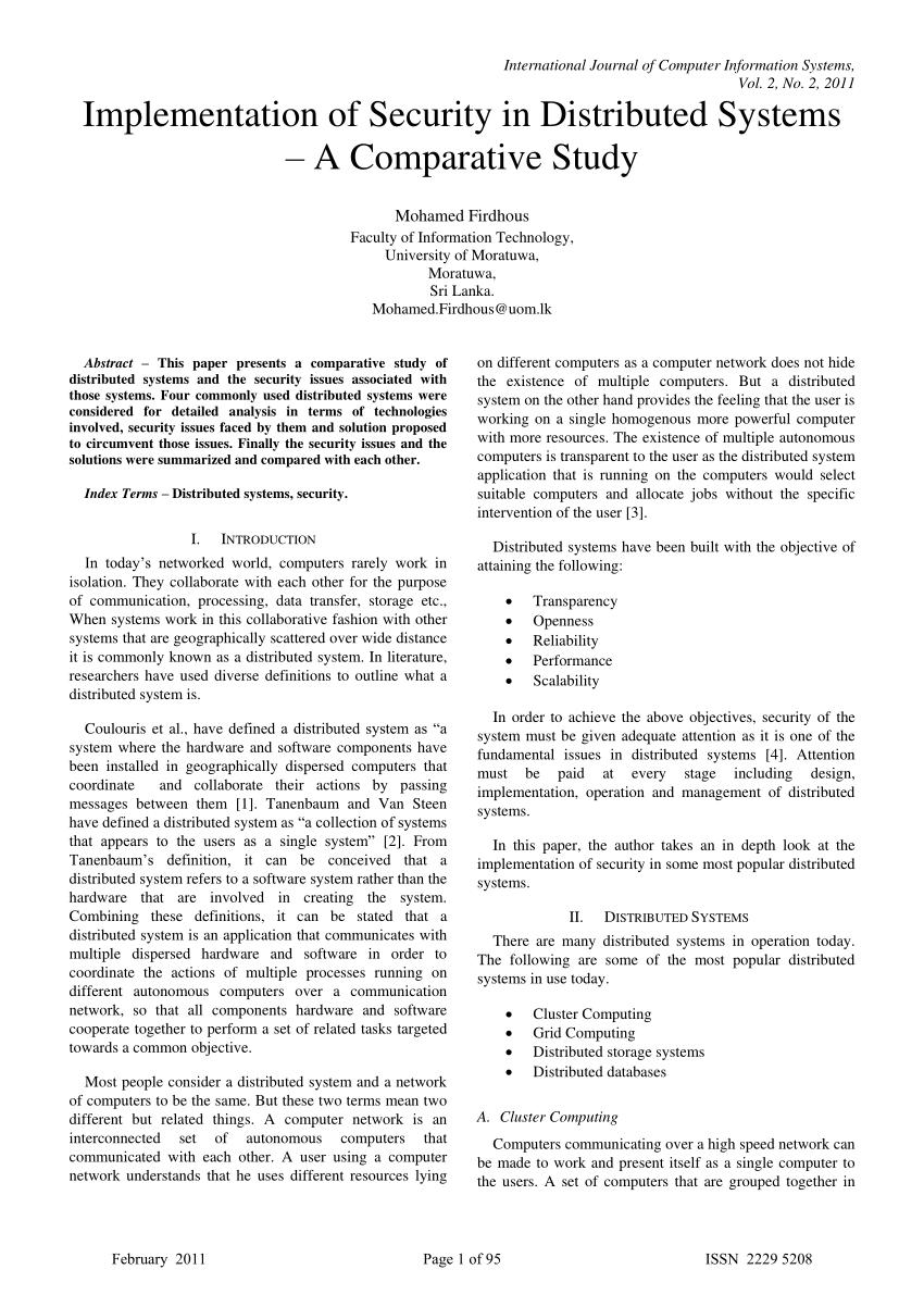 distributed computing tutorial pdf