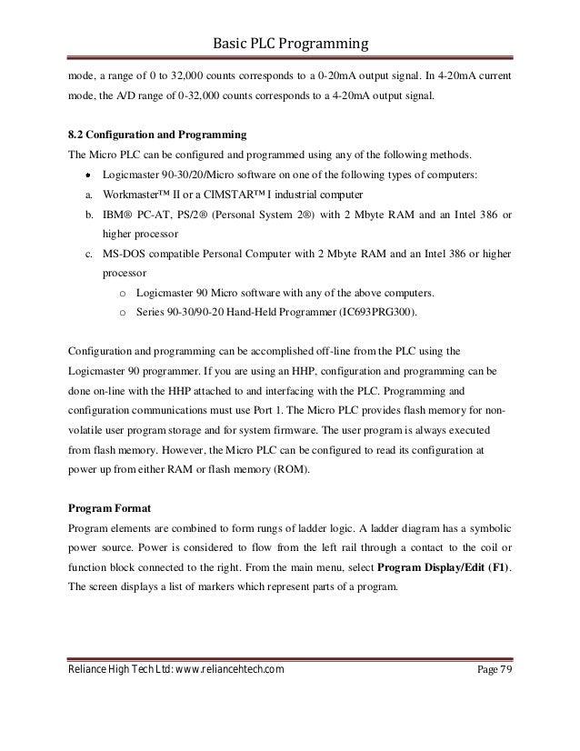 basic plc programming tutorial