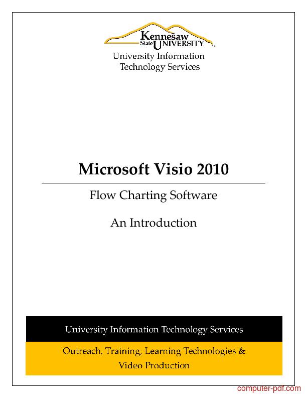 microsoft visio 2010 tutorial for beginners