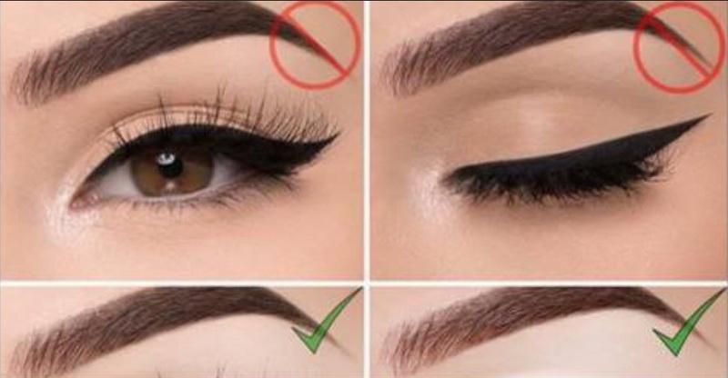 no eyeliner makeup tutorial