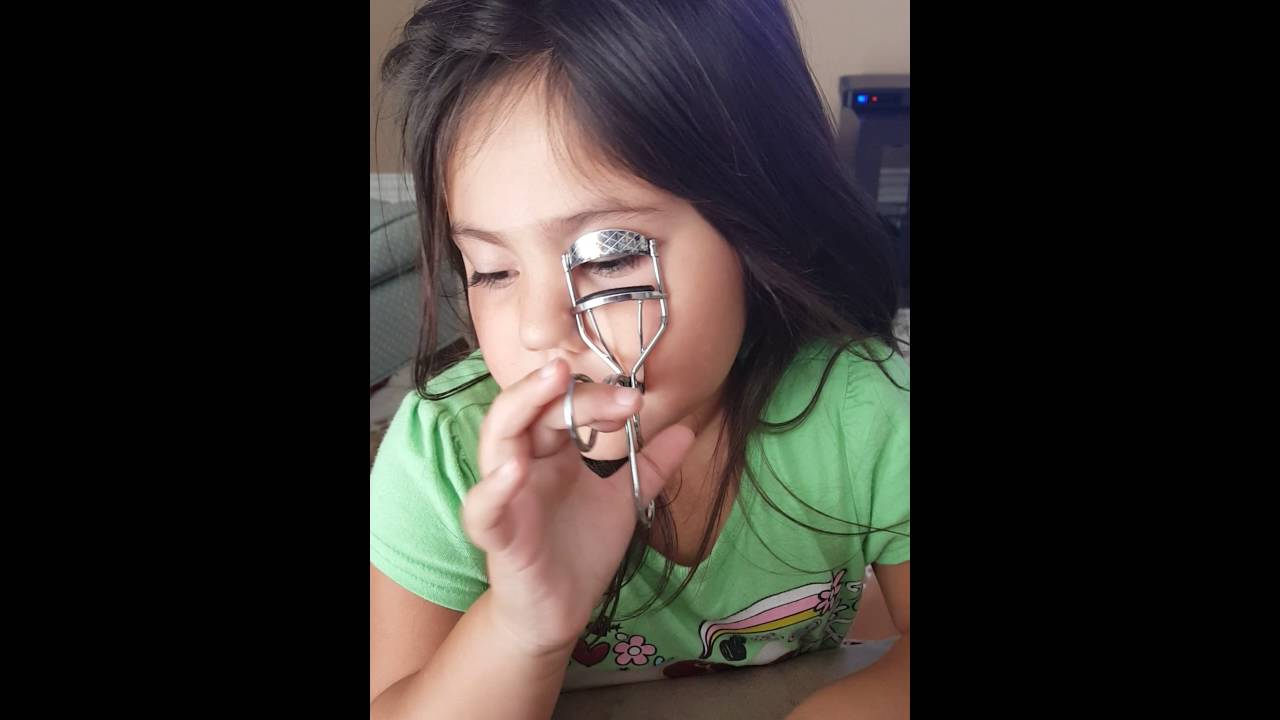 little girl makeup tutorial
