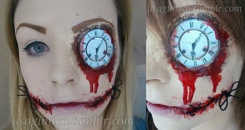 possessed makeup tutorial real or fake