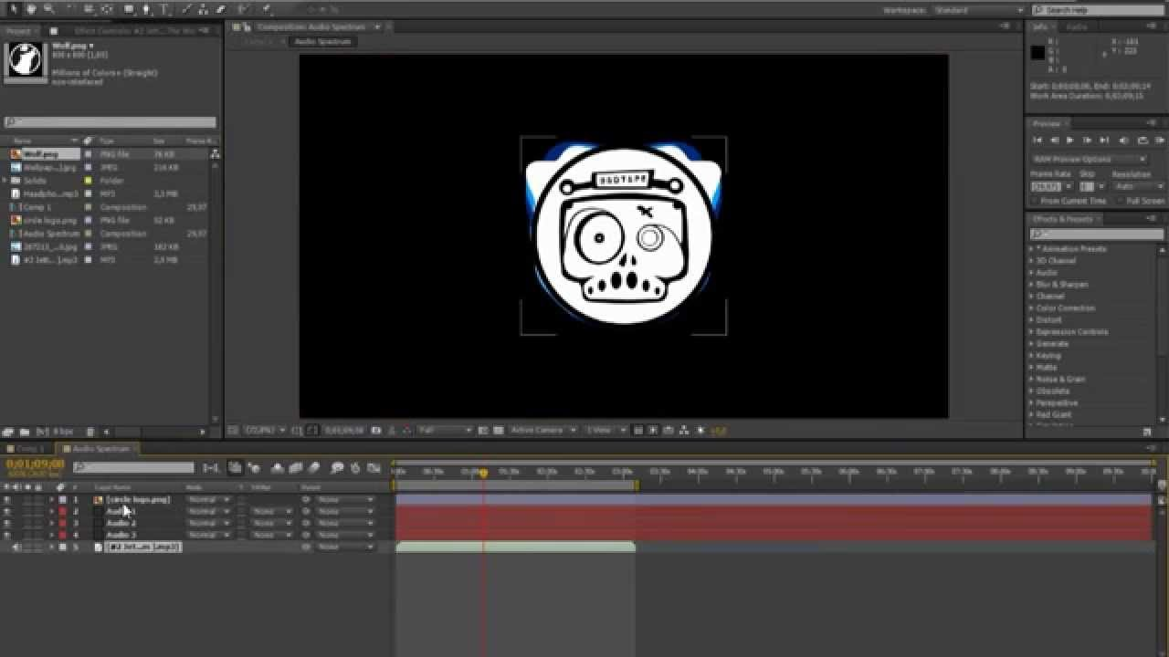 after effects audio tutorial