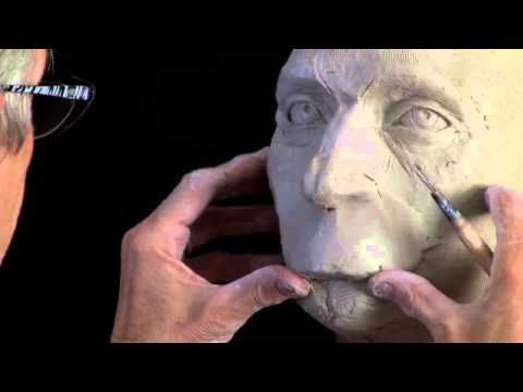 sculpting clay head tutorial