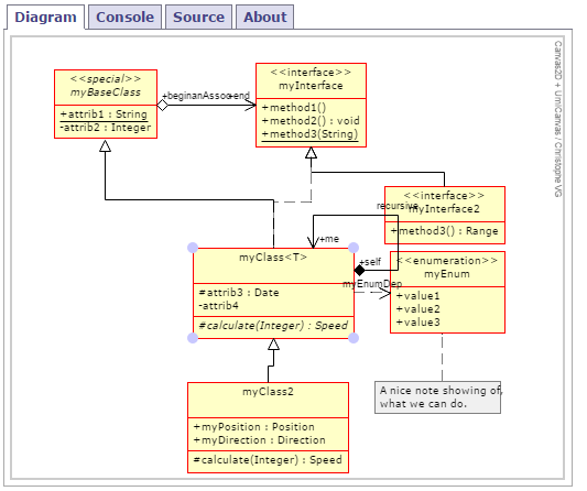 enterprise architect tutorial class diagram