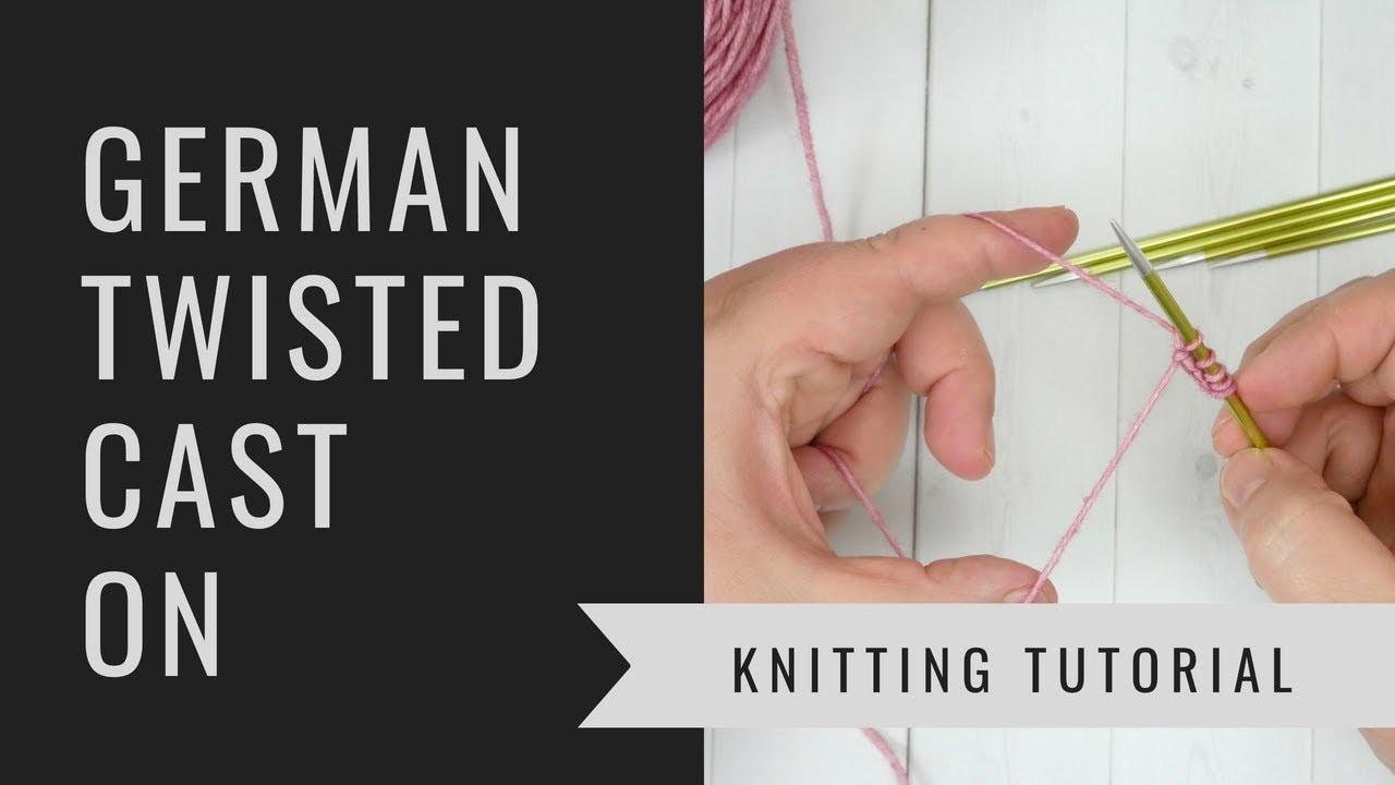 cast on knitting video tutorial