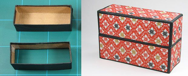 gift box making tutorial