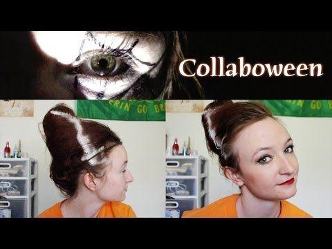 bride of frankenstein wig tutorial