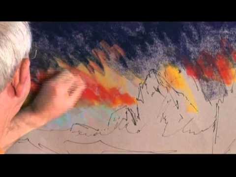 pastel portrait painting tutorial