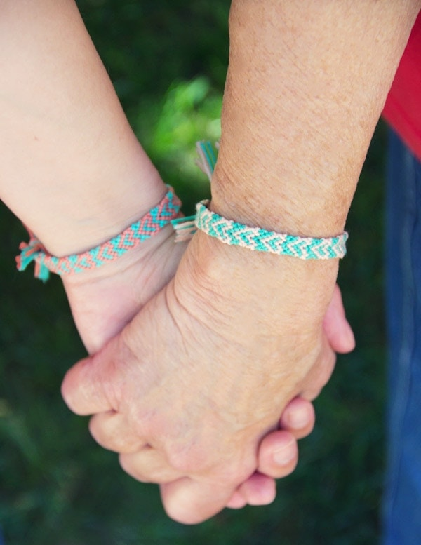 cool friendship bracelet tutorial