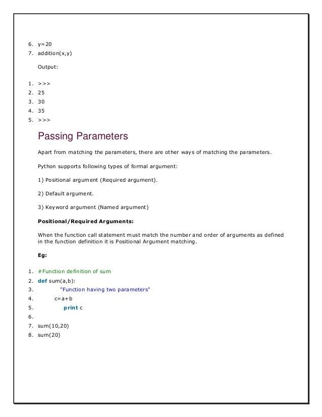 python full tutorial pdf