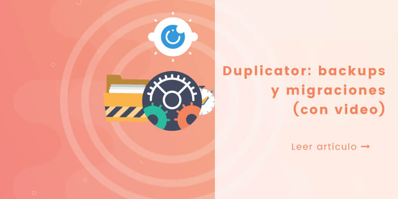 wordpress duplicator plugin tutorial