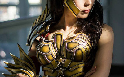 wonder woman armor tutorial