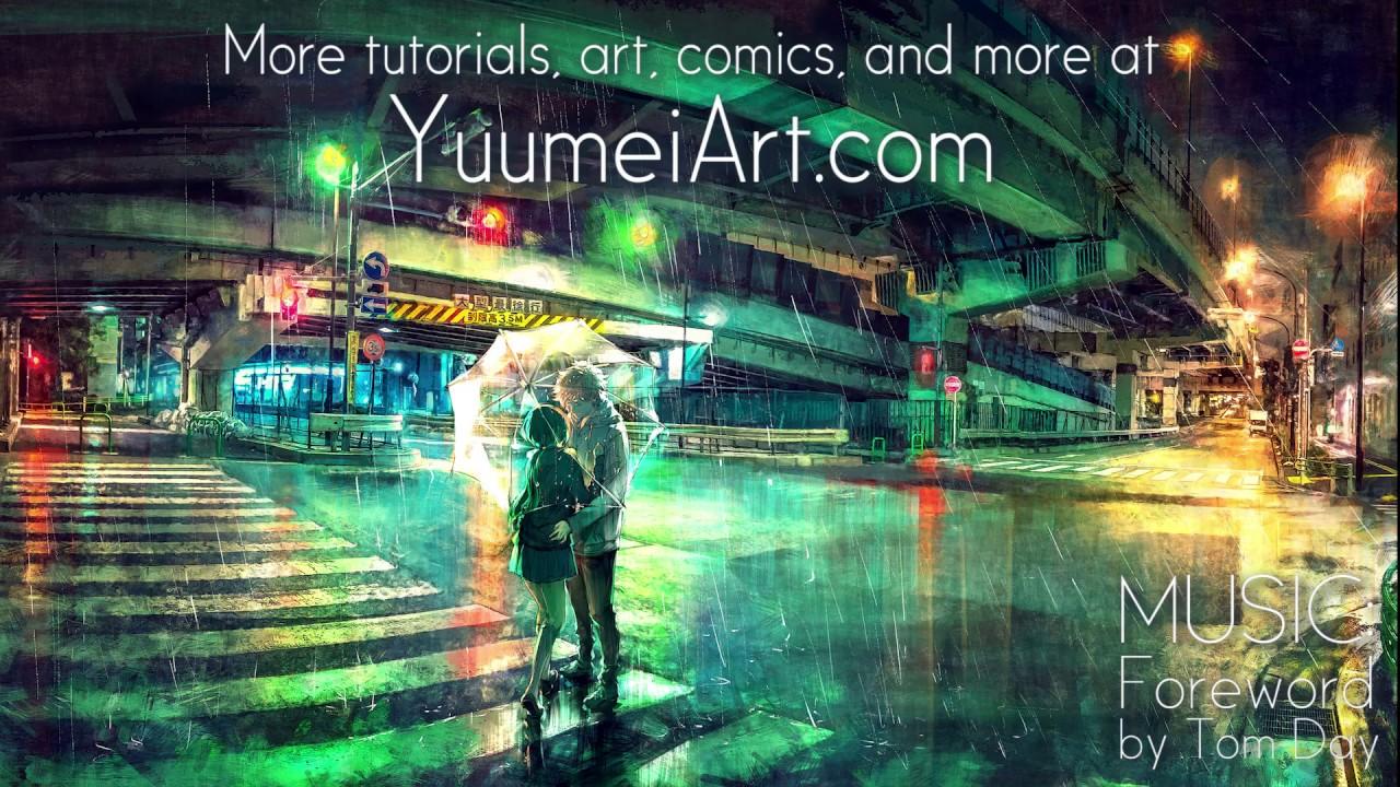 digital art background tutorial