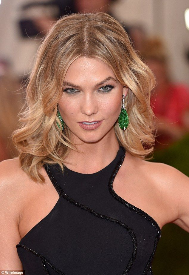 karlie kloss short hair tutorial