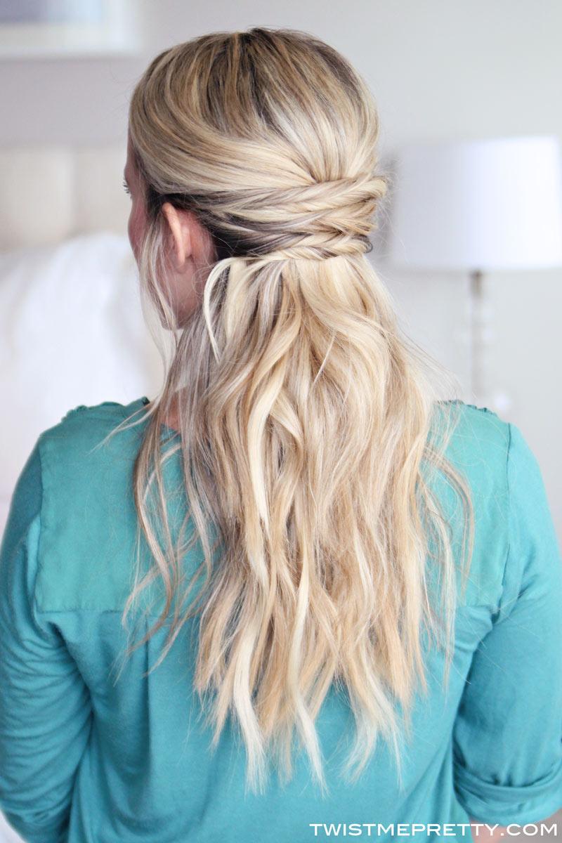 simple wavy hair tutorial