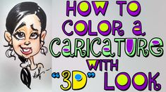 caricature tutorial for beginners