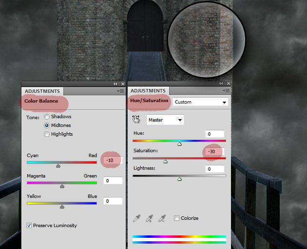 photoshop color balance tutorial