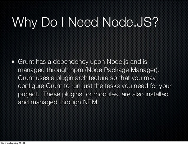 node js grunt tutorial