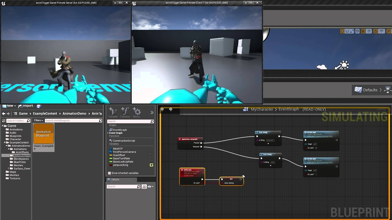 unreal engine 4 multiplayer tutorial