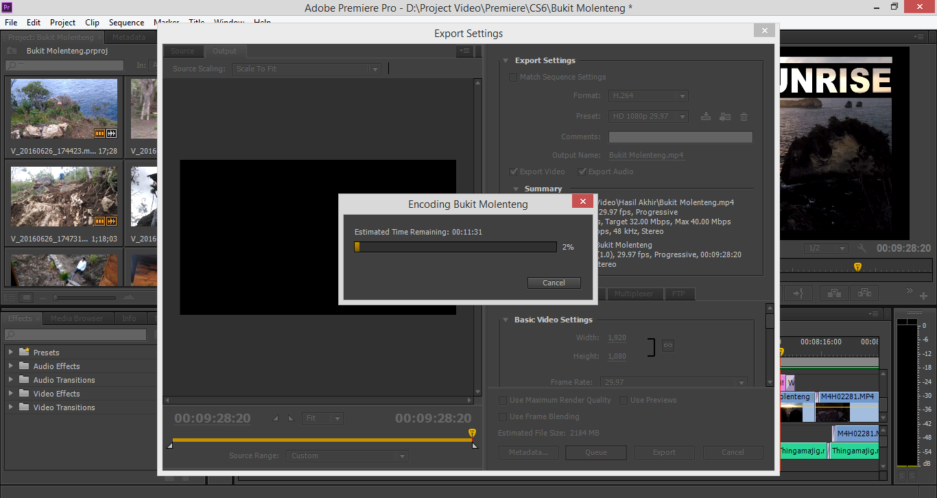 tutorial adobe premiere cs6