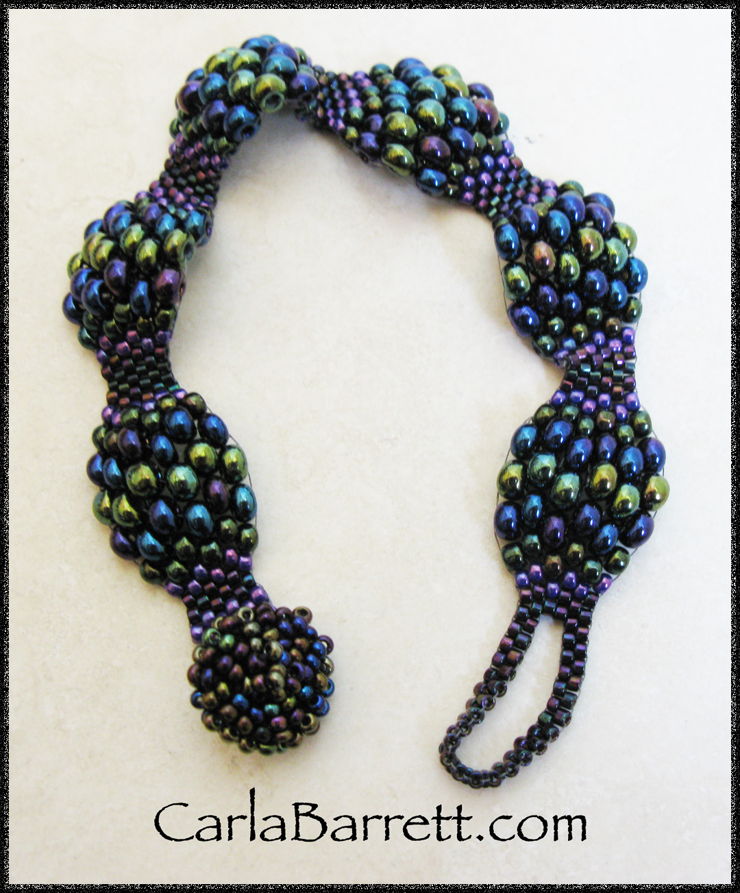 peyote stitch bracelet tutorial