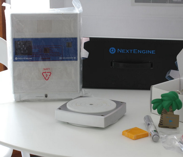 nextengine 3d scanner tutorial