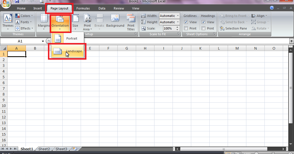 ms office excel tutorial