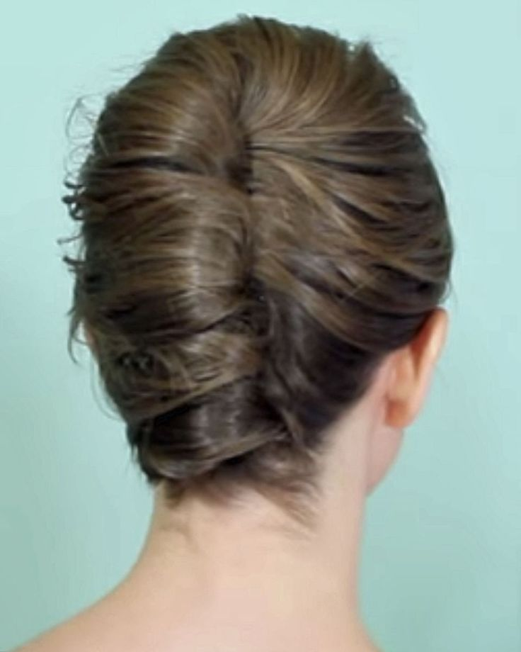 french twist hair tutorial