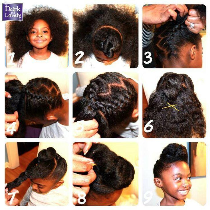 little black girl hair tutorial funny