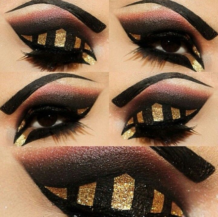 egyptian goddess eye makeup tutorial