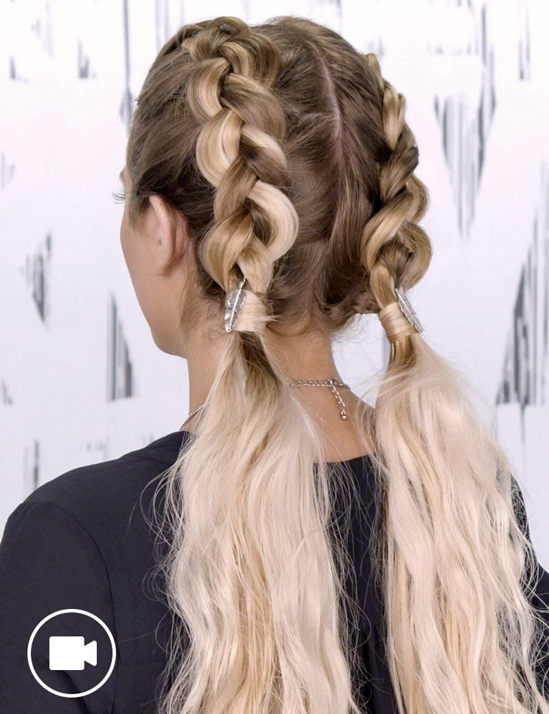 easy dutch braid tutorial