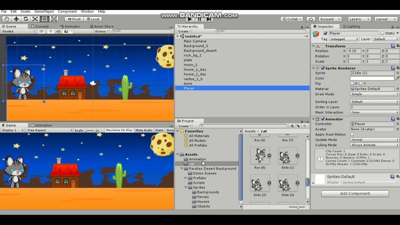 2d game tutorial unity 5