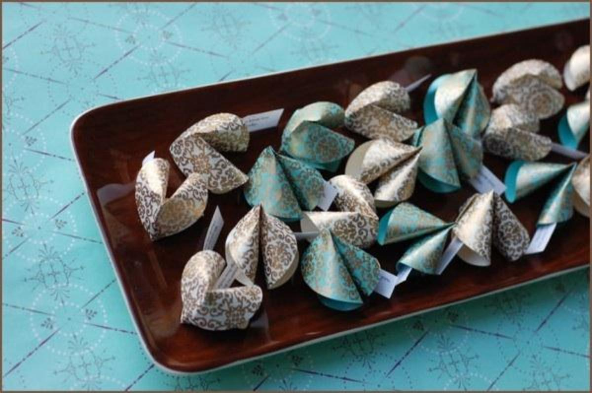fabric fortune cookies tutorial
