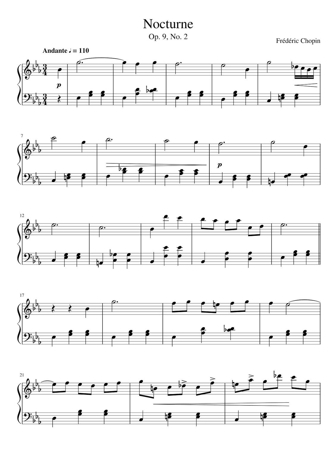 chopin nocturne op 9 no 2 piano tutorial