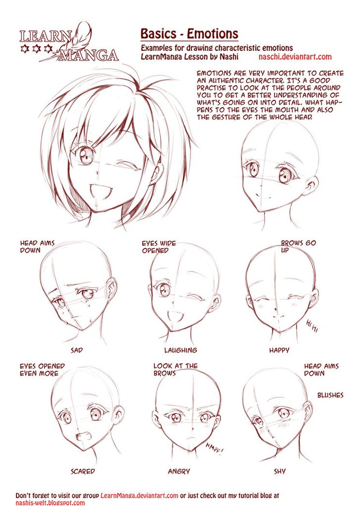 anime girl face drawing tutorial