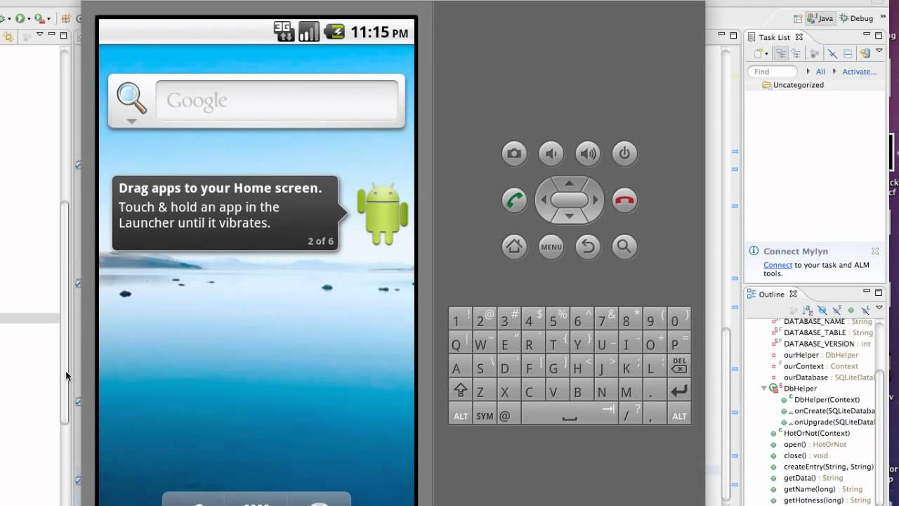 android app development tutorial point