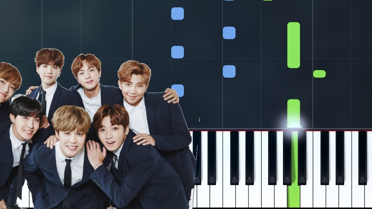 bts for you piano tutorial