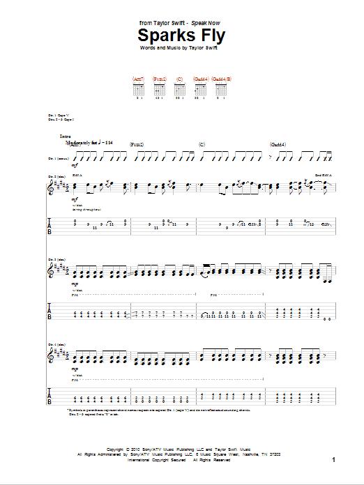back to december guitar tutorial