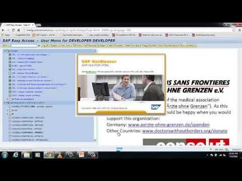 abap data dictionary tutorial