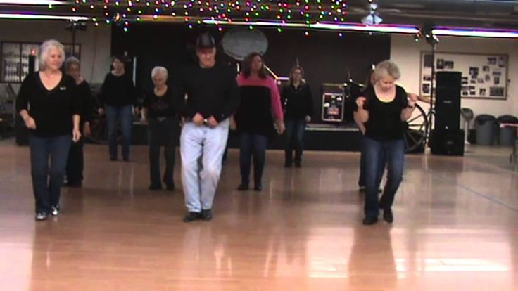 fake id line dance tutorial slow