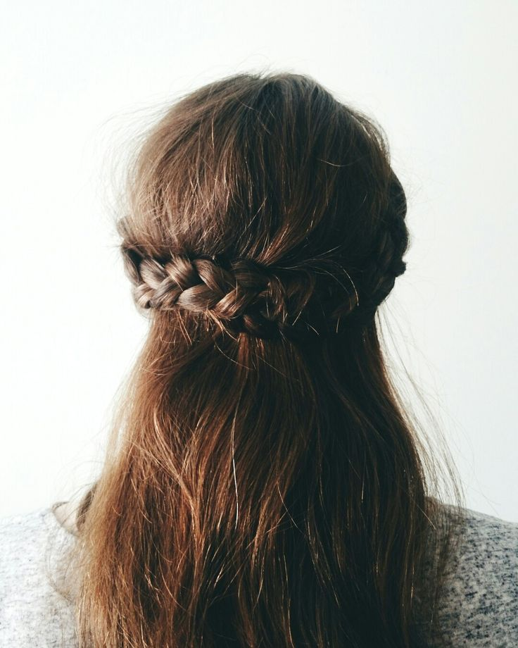 half crown braid tutorial