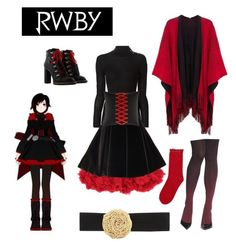 ruby rose cosplay tutorial