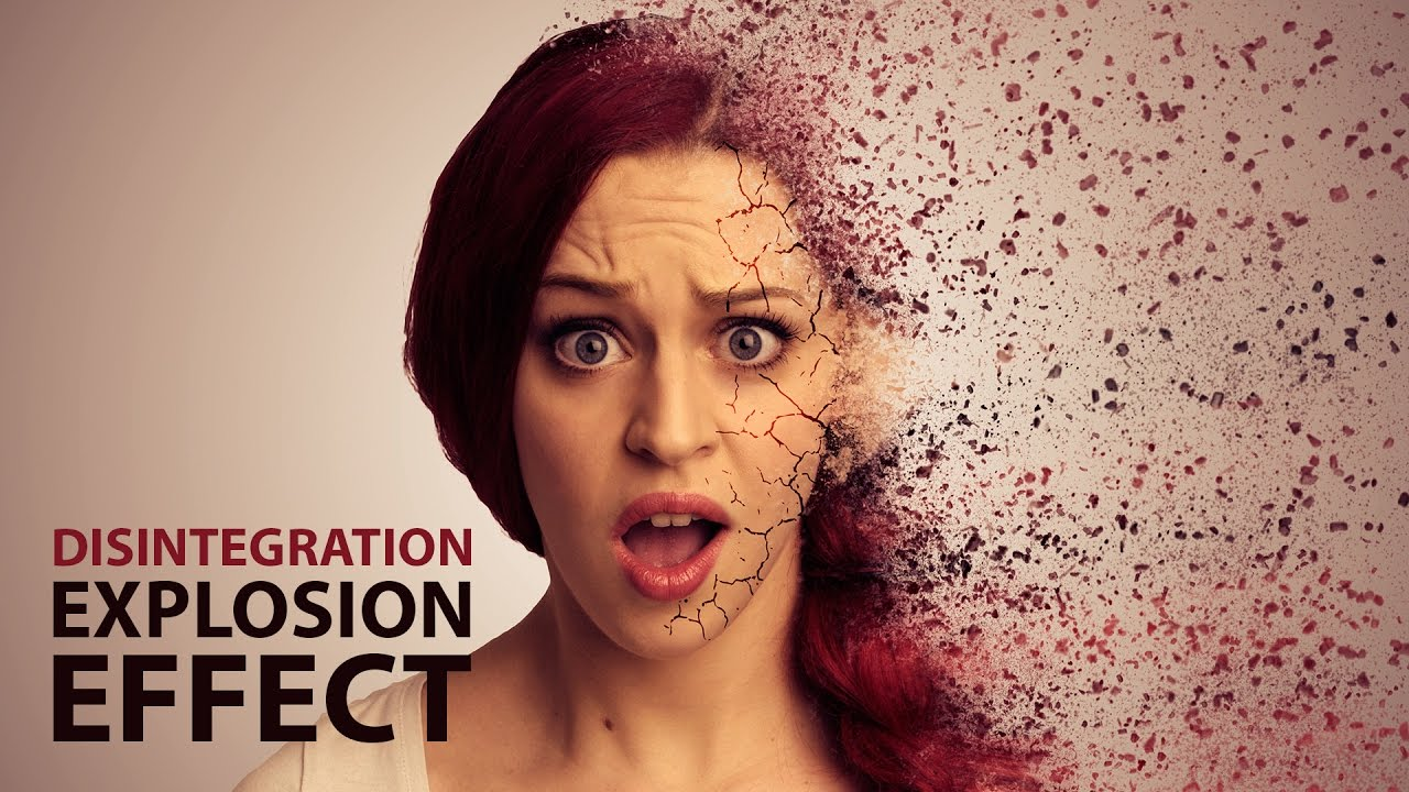 after effects tutorial disintegration effect