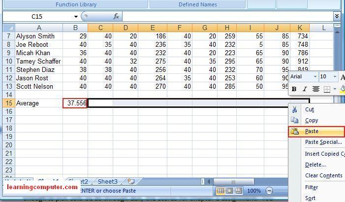 advanced excel 2007 tutorial pdf