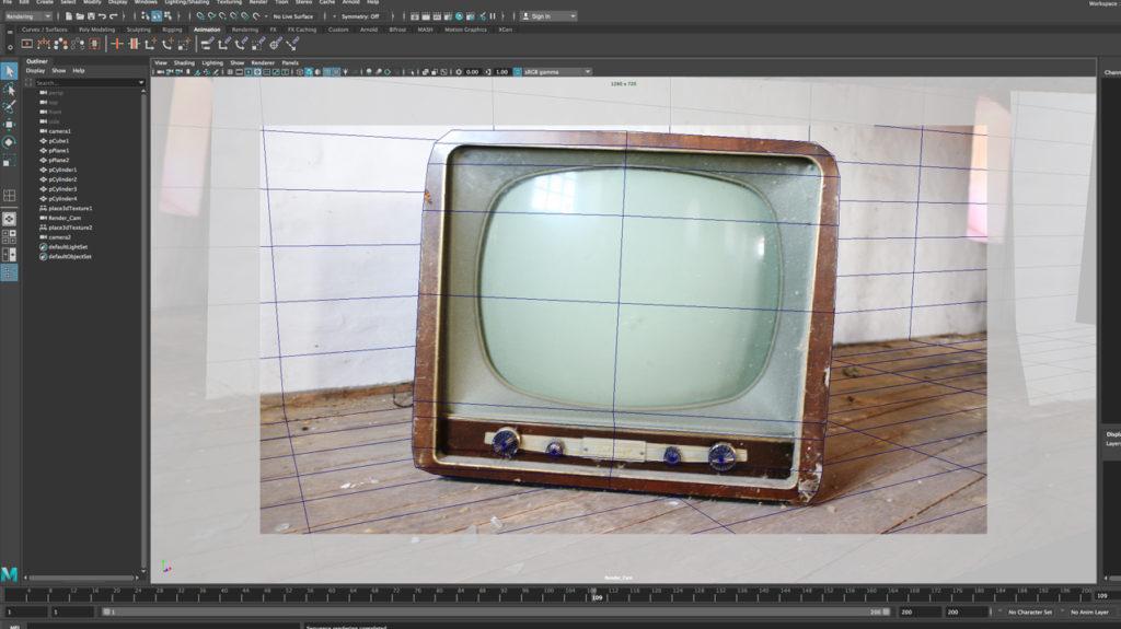 3d camera projection tutorial